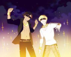 Kirei and gilgamesh The real kings
