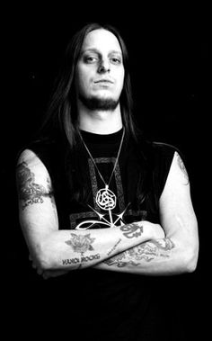"Gylve ""Fenriz"" Nagell of Norwegian black metal band Darkthrone <3"