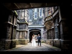 Castlefield Rooms Wedding Photographer // Emma and David