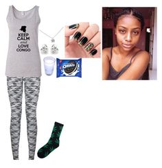 """""""Untitled #101"""" by sherlybella on Polyvore featuring HUF, Georgini and Tiffany & Co."""