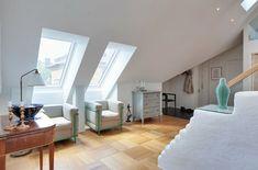 Skandinavischer Stil: Loft in Stockholm | Wohnen | Pinterest ...