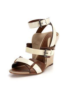 Combo Strap Wedge Sandal by Barbara Bui on Gilt.com