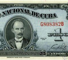 Cuban  Peso ca. 1949