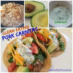 Clean Eating Pork Carnitas, 21 Day Fix Recipe Approved, www.HealthyFitFocused.com