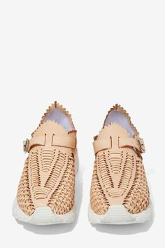 Jeffrey Campbell Meander Leather Sneaker - Shoes | Flats | Jeffrey Campbell #sneakerhead