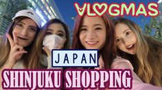 Shopping in SHINJUKU | Vlogmas #1 | KimDao in JAPAN
