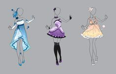 .::Outfit Adopt Set 17 (CLOSED)::. by Scarlett-Knight.deviantart.com on @deviantART