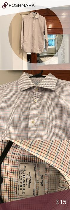 Charles Tyrwhitt dress shirt. Slim fit Charles Tyrwhitt dress shirt. Slim fit charles tyrwhitt Shirts Dress Shirts