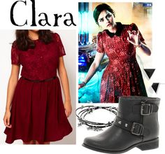 """Clara Oswald from """"Journey to the Cente of the TARDIS"""""""