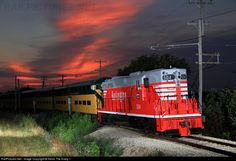 RailPictures.Net Photo: CBQ 504 Chicago Burlington & Quincy Railroad EMD SD24 at Union, Illinois by Kevin The Krazy 1