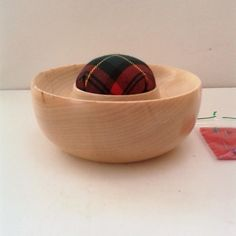 Sycamore Tartan Pin Cushion 712 £12.00