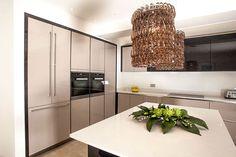 Terra Oak Veneer Kitchen
