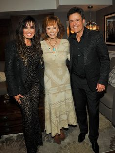 Donny & Marie Osmond ✾ and Reba McEntire ✾