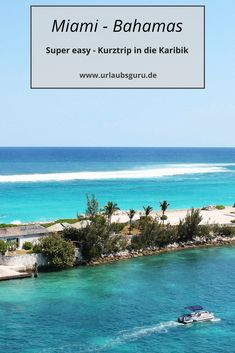 Von Miami auf die Bahamas – klingt im ersten Moment wie eine verrückte Idee, … From Miami to the Bahamas – at first sounds like a crazy idea, but it is by no means! Between the Sunshine State and the… Continue reading → Florida Keys, Florida Travel, Miami Florida, Florida Beaches, Travel Usa, Usa Miami, Miami Beach, Travel Tips, Bahamas Honeymoon