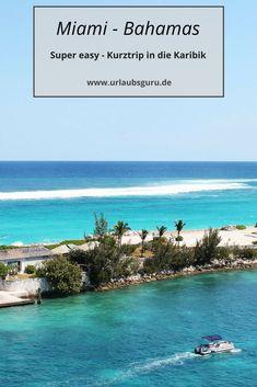 Von Miami auf die Bahamas – klingt im ersten Moment wie eine verrückte Idee, ist es aber keineswegs! Zwischen dem Sunshine-Staat und der Karibik liegt nämlich nur ein Katzensprung. Also nicht lang fackeln, sondern ab aufs Boot!