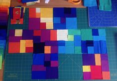 Alexandra Kingswell - finding new pattern by exploring the beauty of colour, number, sequence and proportion through the medium of fabric. Quilts, Fabric, Pattern, Tejido, Patch Quilt, Kilts, Fabrics, Log Cabin Quilts, Model