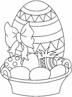 Velikonoční kraslice                                                                                                                                                                                 Mais Spring Coloring Pages, Easter Coloring Pages, Coloring Sheets For Kids, Colouring Pages, Coloring Books, Easter Drawings, Easter Colors, Fabric Painting, Easter Crafts