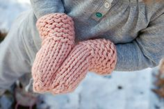 how to: serendipity mittens.