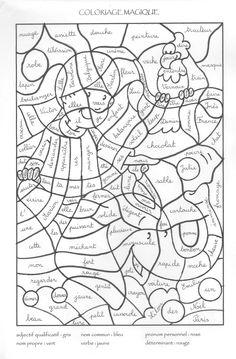 indienne-001.jpg coloriage magique nature des mots