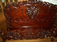 Beautiful antique bed frame
