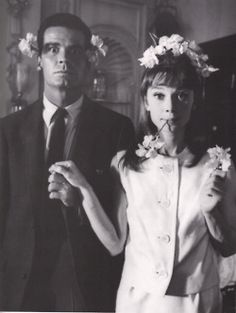 Audrey Hepburn + James Garner= best