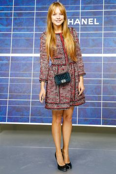 Laura Hayden at Chanel