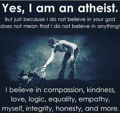 #Atheist #AntiTheist
