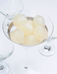 Pear cosmopolitan jelly shots are the fanciest jelly shots perfect for New Years Eve.