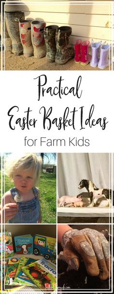 Homestead kids want to be involved in the farm chores that they see mom & dad do so why not give them Easter gifts that reflect that desire? Here are some of my favorite easter gift ideas for kids on the homestead!