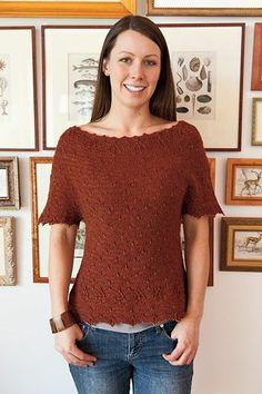 Inkling Sweater Pattern - Knitting Patterns and Crochet Patterns from KnitPicks.com by Edited by Knit Picks Staff