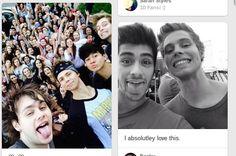 Luke's Selfie Face.