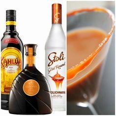 Salted Caramel Martinis - yum!