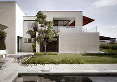 #architektur #architekturschweiz #architekturzürich #architekturbüro #designhaus #interiordesign #design Flat Roof Design, Meier, Home And Family, Garage Doors, Mansions, Architecture, House Styles, Outdoor Decor, Videos