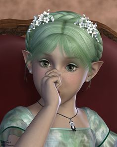 Elven Child 2 by Pommerlis on DeviantArt Crown, Fantasy, Female, Children, Fairies, Angels, Jewelry, Manga, Google Search