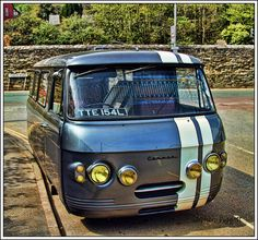 A Classic Commer Camper in Devon GB by Stephen Piggott Photography, via Flickr