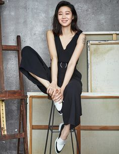Gong Hyo Jin - Cosmopolitan Magazine April Issue... - Korean Magazine Lovers