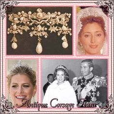 Royal Crown Jewels, Royal Crowns, Royal Tiaras, Royal Jewelry, Tiaras And Crowns, Fountain Wedding Cakes, Royals Today, Marie Chantal Of Greece, Greek Royalty
