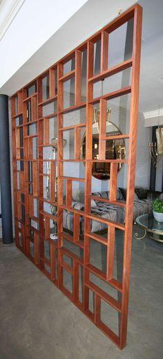 Midcentury Geometric Room Divider image 7 More
