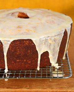 Orange-Pumpkin Spice Cake Recipe | Martha Stewart | #baking #dessert