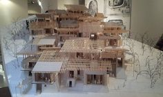 Vernacular Architecture, Roof Architecture, Chinese Architecture, Architecture Student, Architecture Drawings, Structural Model, Arch Model, Timber Cladding, Modern Barn