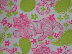 Lilly Pulitzer Child Dress 6 Pink Green White Cats Flowers Cards Poker  #LillyPulitzer #Everyday