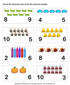 Learn to Count Worksheet7