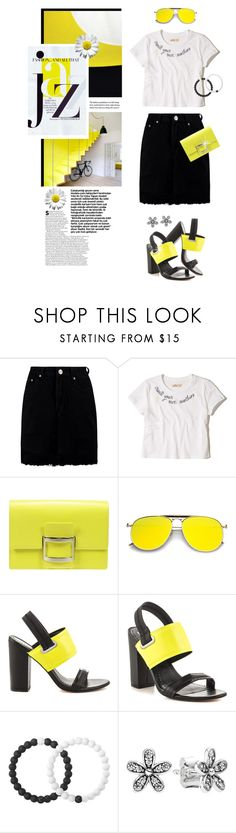 """""""Jazzy Cute Style!!"""" by shortyluv718 ❤ liked on Polyvore featuring Chanel, Boohoo, Hollister Co., Roger Vivier, Circus by Sam Edelman, Lokai and Pandora"""