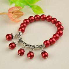 PandaHall Jewelry—Fashion Tibetan Style Glass Pearl Bracelets | PandaHall Beads…
