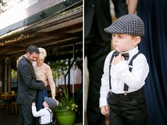 Dapper ring bearer.