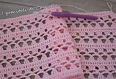 Best 12 How to Make Crochet Look Like Knitting (the Waistcoat Stitch – SkillOfKing. Baby Blanket Crochet, Crochet Shawl, Crochet Baby, Knit Crochet, Filet Crochet, Crochet Stitches Patterns, Stitch Patterns, Knitting Patterns, Crochet Diagram