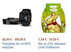 Amazon: Lindt-Goldhasen und Powerbanks zu Schnäppchenpreisen https://www.discountfan.de/artikel/technik_und_haushalt/amazon-lindt-goldhasen-und-powerbanks-zu-schnaeppchenpreisen.php Ausgewählte Powerbanks sind jetzt bei Amazon für einen Tag reduziert im Angebot. Außerdem lockt der Online-Shop mit Lindt-Goldhasen zum Schnäppchenpreis. Amazon: Lindt-Goldhasen und Powerbanks zu Schnäppchenpreisen (Bild: Amazon.de) Die Powerbanks zum Schnäppchenpreis gibt es in zwei Vari