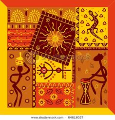 Find African Ornament stock images in HD and millions of other royalty-free stock photos, illustrations and vectors in the Shutterstock collection. Arte Tribal, Tribal Art, Afrique Art, African Art Paintings, Sculptures Céramiques, Indian Folk Art, Indigenous Art, Aboriginal Art, Fabric Painting