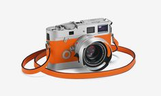 A signature orange version of Leica's M7 Edition Hermes