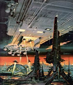 """sciencefictiongallery: """" Paul Alexander - Tales of ten worlds, 1973. """""""